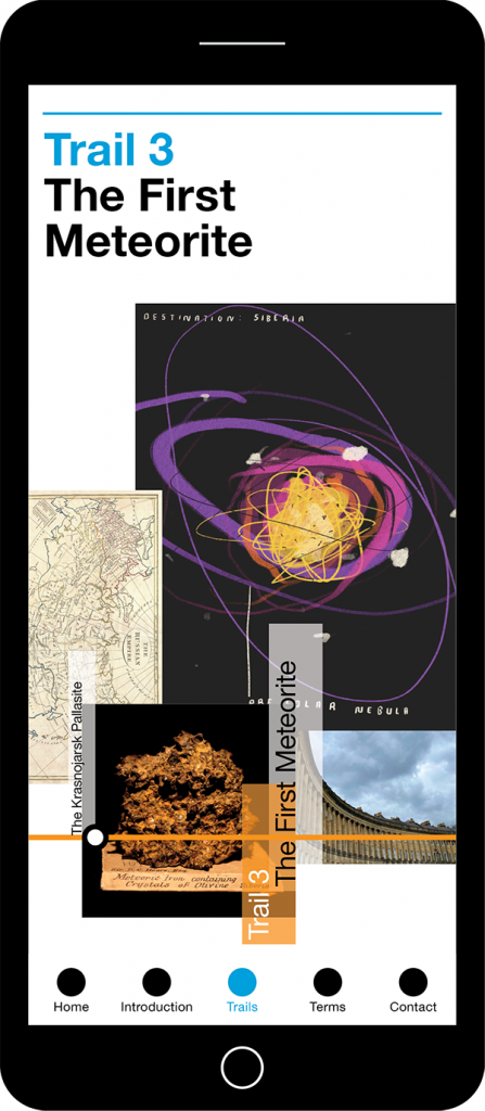 Bath Royal - Bath Trails App - The First Meteorite