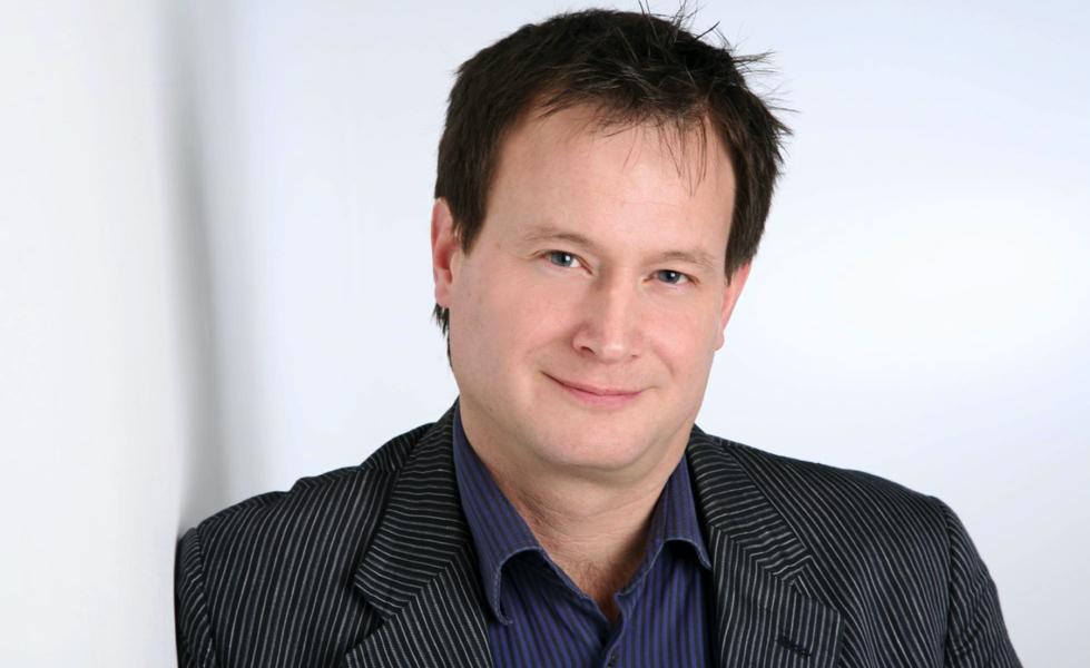 Image of the speaker, Bruce Hood